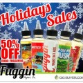 50% OFF Fuggin Vapor E-Juice + Holiday Overstock Sale