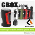 Geekvape GBOX 200W Squonk Mod / Kit – From $36.99