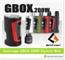 Geekvape GBOX 200W Squonk Mod / Kit – From $39.99