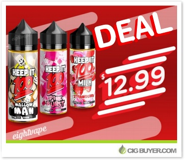 Keep It 100 & Naked 100 E-Juice Deals