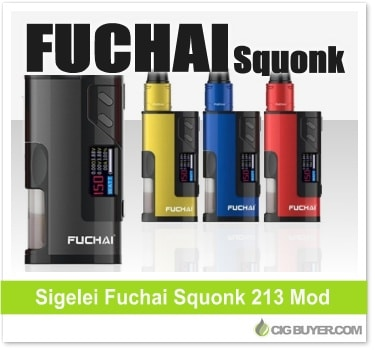Sigelei Fuchai Squonk 213 Mod Kit