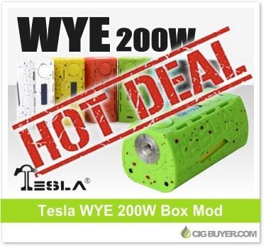 Tesla WYE 200W Box Mod Deal