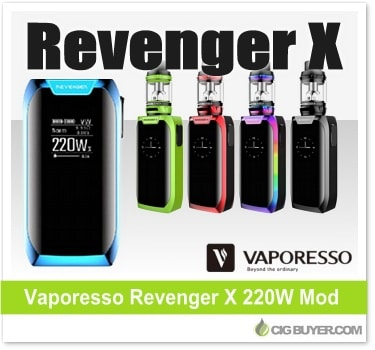 Vaporesso Revenger X 220W Mod Kit