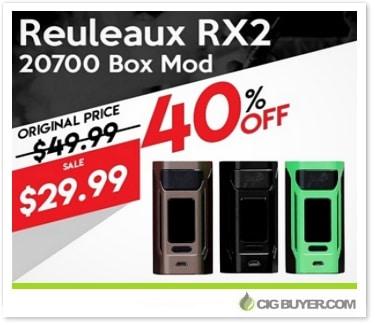 Wismec Reuleaux RX2 20700 Box Mod Deal