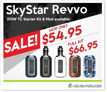 Aspire SkyStar 210W Box Mod / Revvo Kit