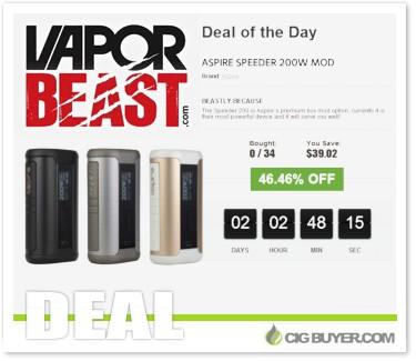 Aspire Speeder 200W Box Mod Deal
