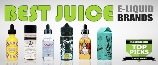TOP PICKS: Best E-Juice / Liquid Brands of 2018 | Cig Buyer com