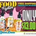 40%+ OFF Food Fighter E-Liquid – $13.00 for 120ml