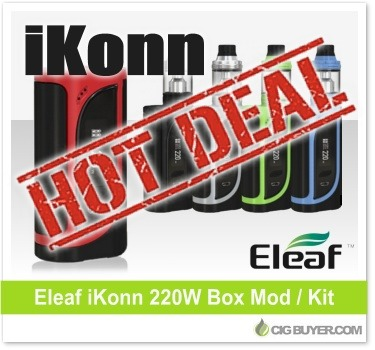 Eleaf iKonn 220W Box Mod Deal