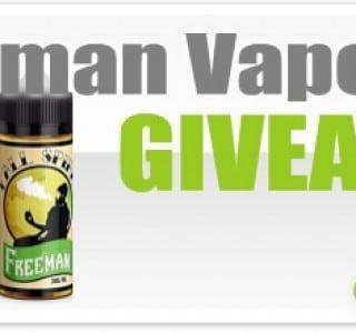 Freeman Vape Juice Giveaway (ENDED)