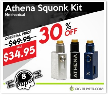 Geekvape Athena Squonk Mod / Kit Deal