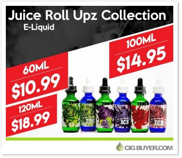 Juice Roll Upz E-Liquid Deal