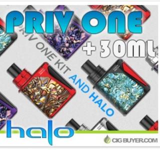 Smok Priv One Kit + 30ml Halo E-Liquid – $29.99 + Free Shipping