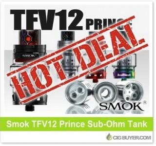 Smok TFV12 Prince Tank Deal – ONLY $19.99!