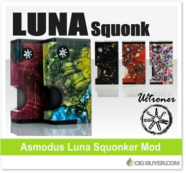 Ultroner / Asmodus Luna Squonker Box Mod