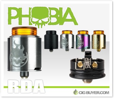Vandy Vape Phobia RDA by Alex from VapersMD