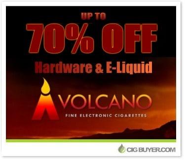 Volcano E-Cigs Vape Specials & Deals