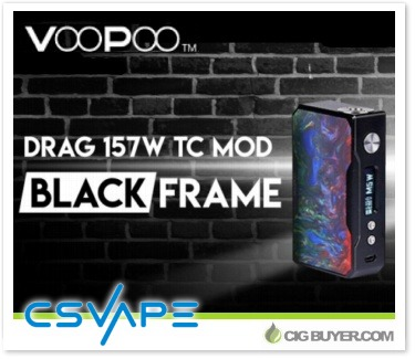 Voopoo Drag 157W Box Mod Resin Edition