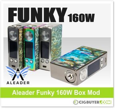 Aleader Funky 160W Box Mod