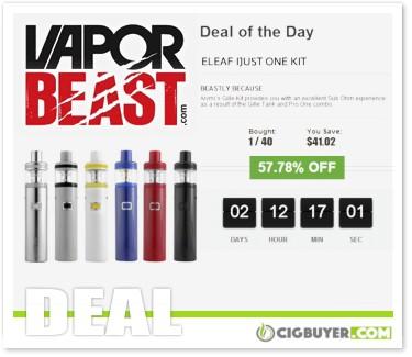 Eleaf iJust One Starter Kit Deal