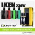 Kanger Iken 230W Box Mod Kit – Just $35.99