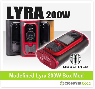 Modefined Lyra 200W Box Mod Kit