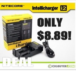 Nitecore i2 Battery Charger – ONLY $8.89!!!