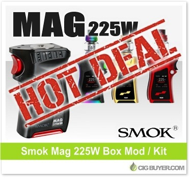 Smok Mag 225W Box Mod Deal