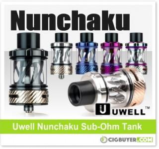 Uwell Nunchaku Sub-Ohm Tank – $19.91