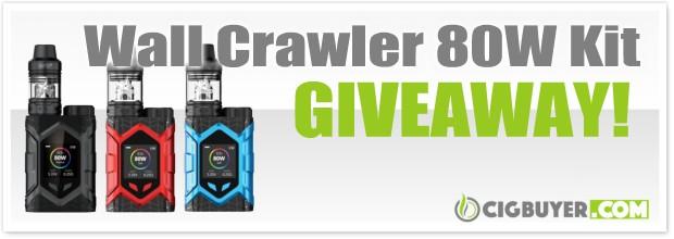 Vaptio Wall Crawler 80W Mod Kit Giveaway