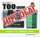 Voopoo Too 180W Box Mod Starter Kit – ONLY $45.00!!!