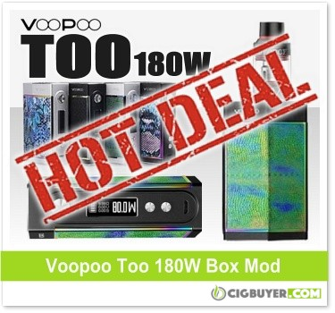 Voopoo Too 180W Box Mod Starter Kit