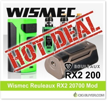 Wismec Reuleaux RX2 20700 Kit Deal