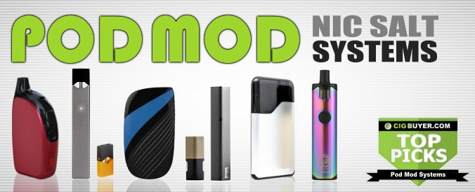 TOP PICKS: The Best E-Cig & Vape Pod Systems | Cig Buyer com
