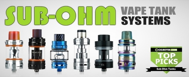 Best Sub-Ohm Tank Systems