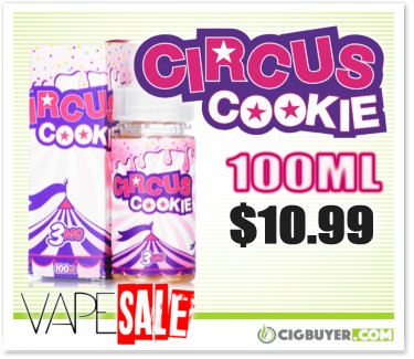 Circus Cookie E-Juice Deal