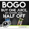 Eight Vape Weekend Deals – E-Juice BOGO, Free Battery & More