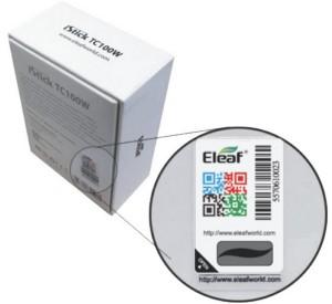 Eleaf Product Verification