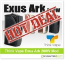 Exus Ark 200W Box Mod by Think Vape – ONLY $24.99!!!