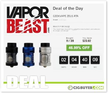 Geekvape Zeus RTA Tank Deal