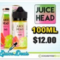 50% OFF Juice Head E-Liquid – 100ml for $12.00