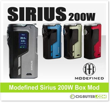 Modefined Sirius 200W Box Mod