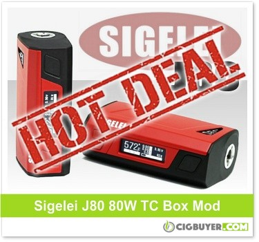 Sigelei J80 80W Box Mod Deal