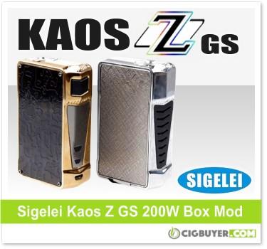 Sigelei Kaos Z GS Edition 200W Box Mod