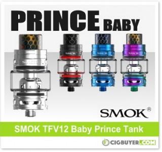 Smok TFV12 Baby Prince Sub-Ohm Tank – $20.99