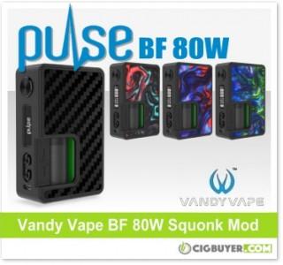 Vandy Vape Pulse BF 80W Squonk Mod – $44.93
