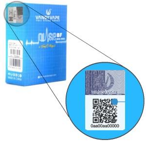 Verify Vandy Vape Product