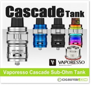 Vaporesso Cascade Sub-Ohm Tank – $26.90
