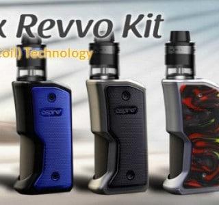 Aspire Feedlink Revvo Kit – Aspire Goes Squonk