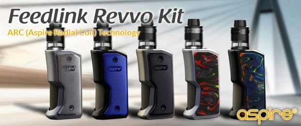 Aspire Feedlink Revvo Kit Preview